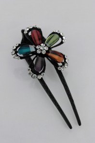 Flower Hair Pin Stick