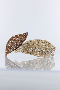 Double leaf france barrette