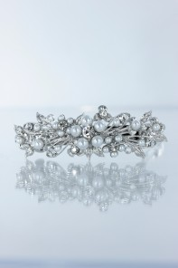 Small flower hair barrette jewelry for weding