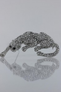 Puma brooch