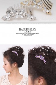 Butterfly Wedding Comb