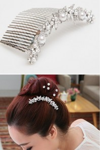 Garden Bridal Hair Accessories