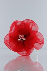 8 leave wedding flower corsage