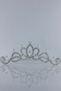 WEDDING TIARA WITH COMB