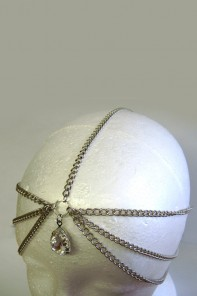 Big diamond drop headchain